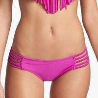 Luli Fama Braided Side Bikini Bottoms