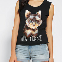 Urban Outfitters - New Yorkie Muscle Tee
