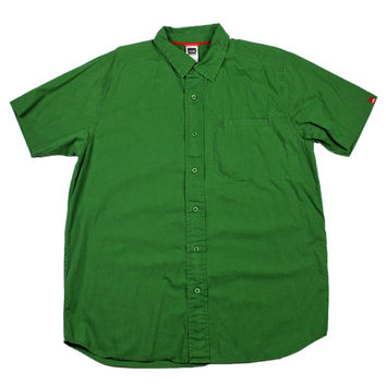 North Face Green Hiking Shirt Mens Size Large