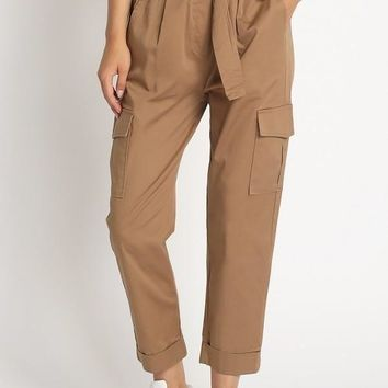 Off The Market Paperbag Pants