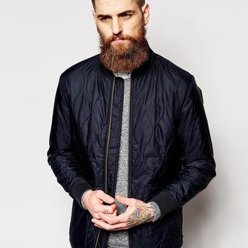 Barbour Bomber Jacket with Onion Quilt