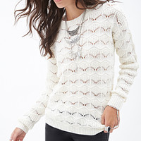 FOREVER 21 Patterned Knit Sweater