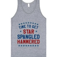 Time To Get Star Spangled Hammered Tank Top (id6070005)-Tank