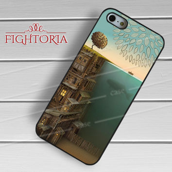 Vintage Ocean And Human's Life -ed3 for iPhone 6S case, iPhone 5s case, iPhone 6 case, iPhone 4S, Samsung S6 Edge
