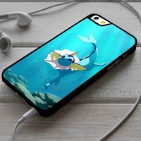 Vaporeon Pokemon Custom Case for iPhone 4/4s 5 5s 5c 6 6 plus 7 Case
