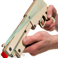 Bandit Guns: Pump-action Rubber Band Guns