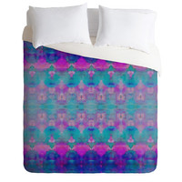 DENY Designs Home Accessories | Amy Sia Watercolour Tribal Pink Duvet Cover