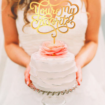 Wedding Cake Topper - You are Loved (WCT00067)