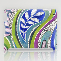 Patterned Nature iPad Case by Janet Broxon