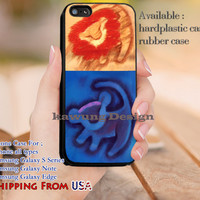 Hakuna Matata Lion King Symbol iPhone 6s 6 6s+ 5c 5s Cases Samsung Galaxy s5 s6 Edge+ NOTE 5 4 3 #cartoon #disney #animated #theLionKing dl11