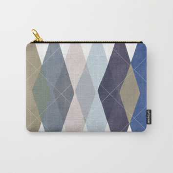 Not Your Father's Argyle Carry-All Pouch by enframe photography