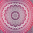FREE SHIPPING Indian Ombre Mandala Flower Queen Dorm Room 210cm x 240cm Bed Sheet Cover Wall Hanging Tapestry Festival Boho Wall Art UK