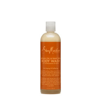 Argan Oil & Raw Shea Body Wash with Frankincense & Myrrh