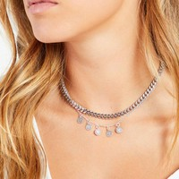 Dom Necklace - Silver