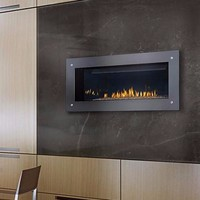 "Napoleon Vector LV38 Direct Vent 38"" Electronic Ignition Fireplace with Surround"
