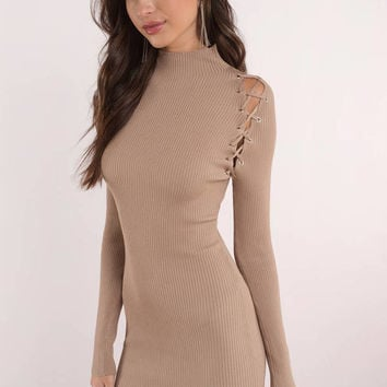 Cross My Heart Bodycon Dress