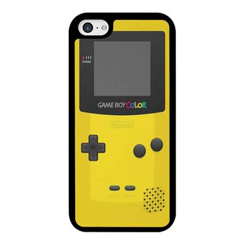 Yellow Nintendo Gameboy Color iPhone 5C Case