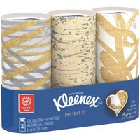 Kleenex Facial Tissues, Perfect Fit, 50 Sheets, Pack of 3 (Designs May Vary) - Walmart.com