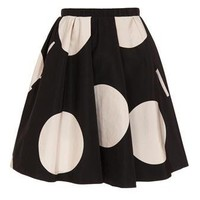 Browns fashion & designer clothes & clothing | ACNE | ?Romantic dot? silk skirt