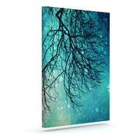 "Sylvia Cook ""Winter Moon"" Outdoor Canvas Wall Art"