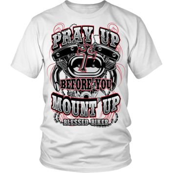 **New Arrival** Pray Up Before You Mount Up