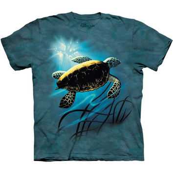 Green Sea Turtle Kids T-Shirt