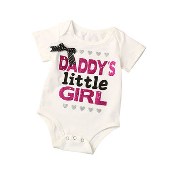 Infant Kids Baby Girls Boys Letters Printing Leopard Romper Jumpsuit Clothes childrens fancy dress boys clothing Clothes girl