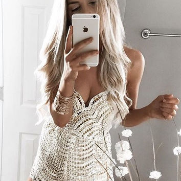 Brilliant Sequined Romper