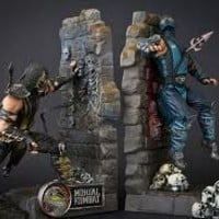 Mortal Kombat 9 Bookends with Scorpion