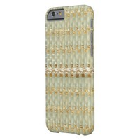 Pearl/Gold Pattern IPhone 6 Case