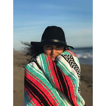 Pastel Mexican Blanket