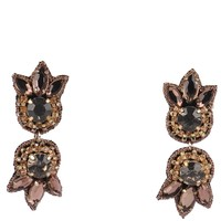 Suzanna Dai Romani Button Earrings - Gold
