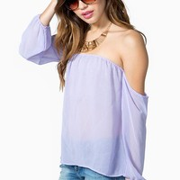 Pastel Easy Breezy Blouse