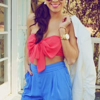 Far From Your Classic Bandeau: Coral | Hope's