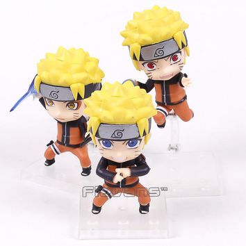 Naruto Shippuden Uzumaki 3 Piece Action Figure Set