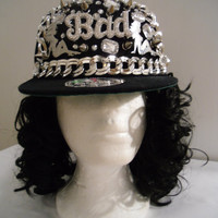 Spiked Snapback Hat (Bad Girl)