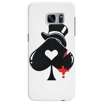 poker hat ace of spades Samsung Galaxy S7 Edge