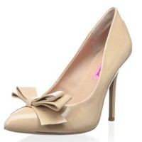 Betsey Johnson bow pumps
