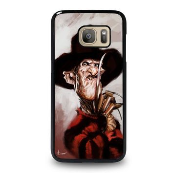 freddy krueger 3 samsung galaxy s7 case cover  number 1