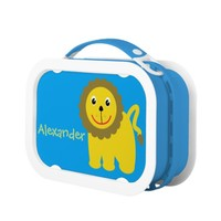 Happy lion lunch box
