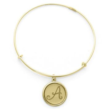 Alex and Ani Precious Initial A Charm Bangle - 14kt Gold Fillled