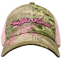 Waffle House Pink Camo Hats   Free shipping On $75