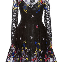Long Sleeve Floral Dress | Moda Operandi