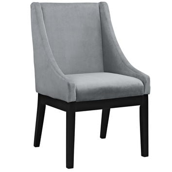 Tide Wood Dining Chair in Gray