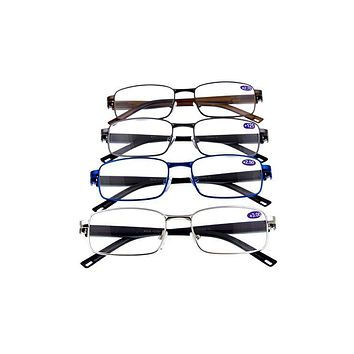 Metal fully rimmed reader glasses