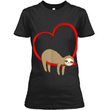 Valentine's Day Sloth  Gifts for Girls Women Sloths Ladies Custom