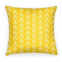 Yellow Trendy Chevron Pattern