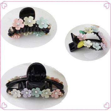 M MISM New Fine Cute Flower Crystal Hairpins Hair Accessories Head Wear Hair Clips Hair Claw Big Small for Women Girls Kids