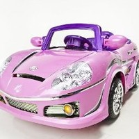 Kids Ride on Car Electric Power Remote Control Wheels MP3 Pink Upgraded With A 6V 10Ah Battery & Big Motor