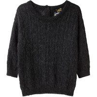 Le Mont St. Michel Loose Knit Sweater